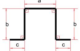 (ES 50) Espaçador - Desenho Técnico