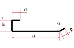 Requadro Lateral - Desenho Técnico